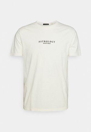 WASHED SCORPION - T-shirt print - ivory