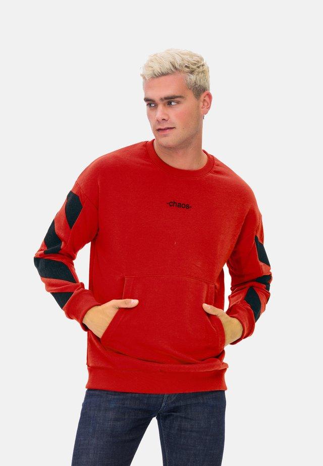 KAPUZENSWEATSHIRT MAN SWEATSHIRT - Sweatshirt - red