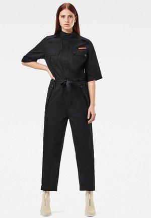 Field straight short sleeve - Combinaison - dk black
