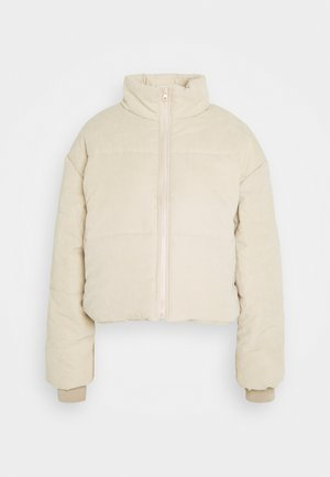 PUFFER JACKET - Winter jacket - stone