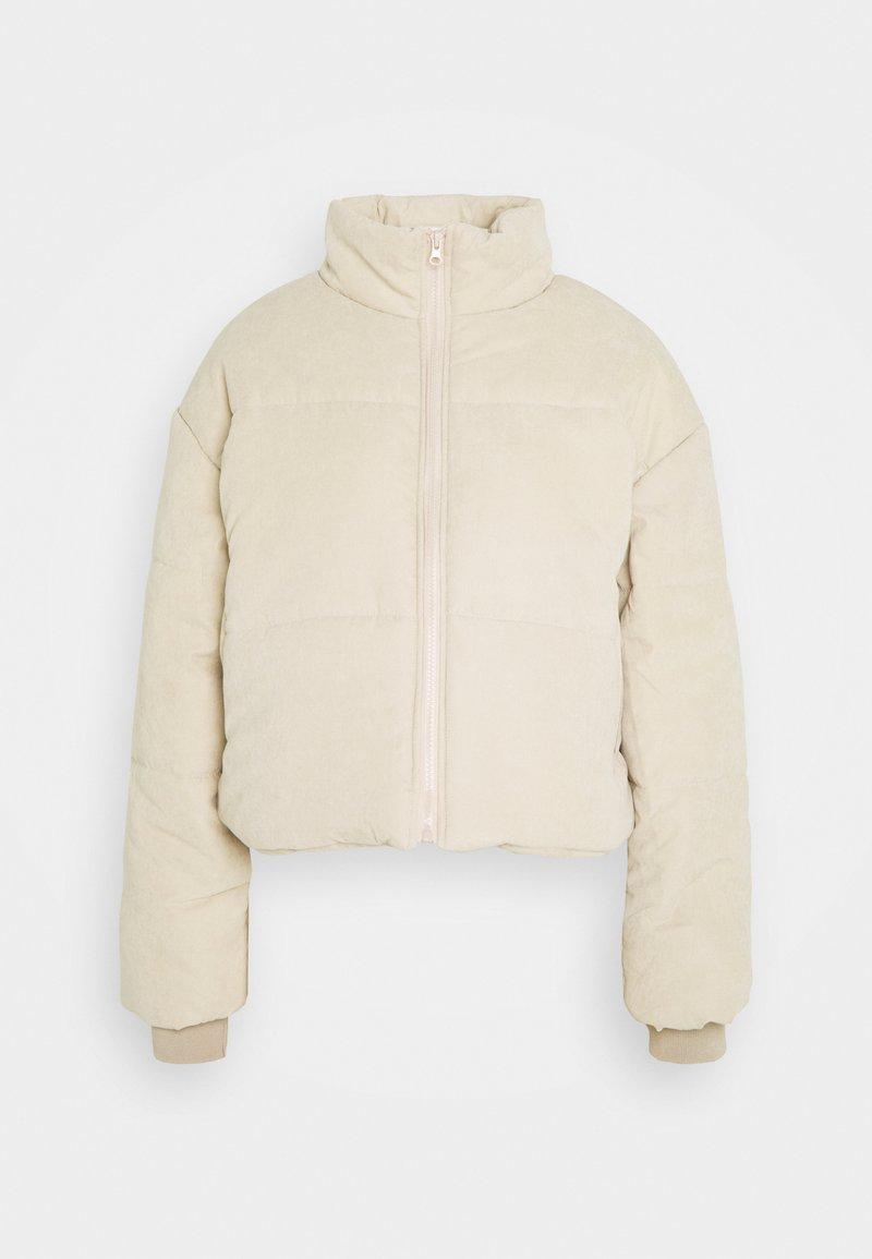 Missguided Petite - PUFFER JACKET - Winter jacket - stone