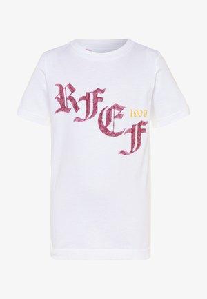 FEF SPANIEN GR TEE - T-shirt print - white