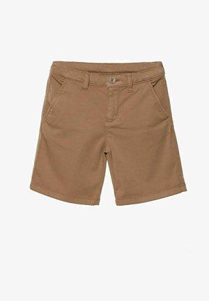 DOUUOD BERMUDA - Shorts - light brown