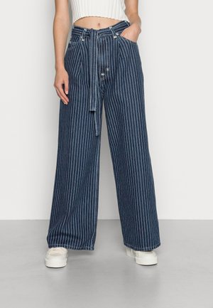 WIDE LOOSE - Relaxed fit jeans - change stripes