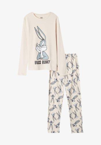 Pyjama set - rosa pink bugs bunny print