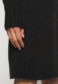 J.CREW - MOCKNECK SWEATER DRESS - Sukienka dzianinowa - black - 5