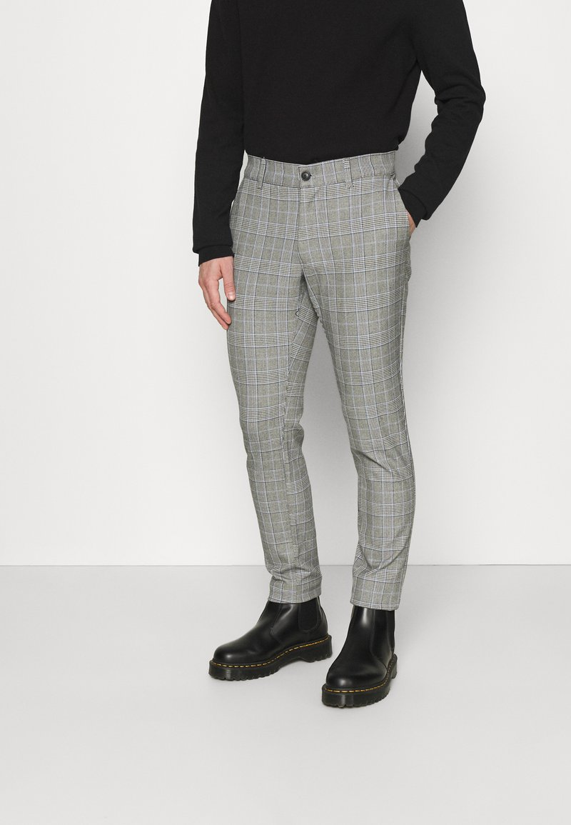 Only & Sons - ONSMARK PANT CHECK - Trousers - marina
