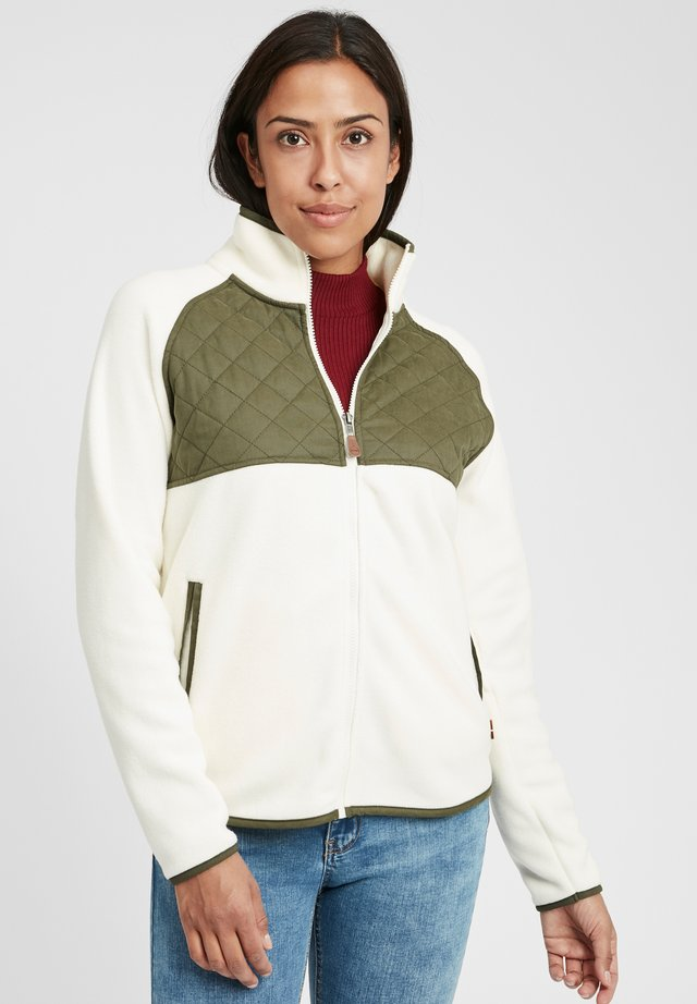 MALIN - Fleece jacket - off white