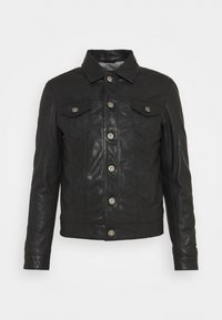 Serge Pariente - JEAN DELETION LIST - Leather jacket - black - 2
