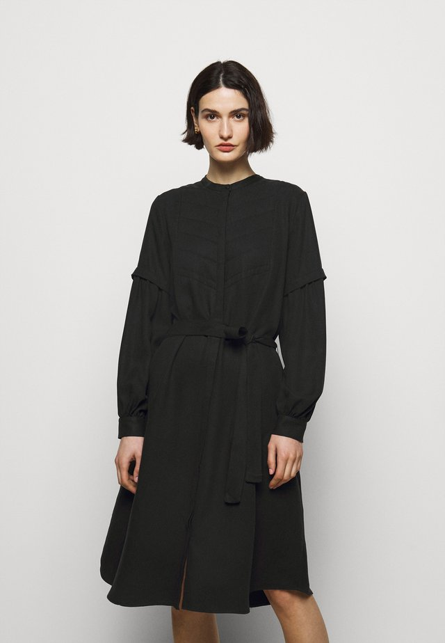PRALENZA ALIZA DRESS - Shirt dress - black