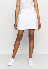 Nike Golf - VICTORY SOLID SKIRT - Sports skirt - white/photon dust - 0