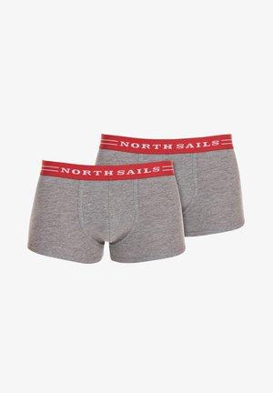 2-PACK - Pants - melange
