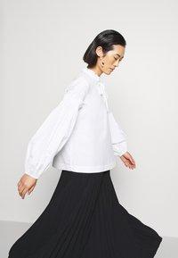 ARKET - MAXI SKIRT - A-line skirt - black dark - 4
