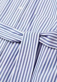 Mango - Shirt dress - azul - 7