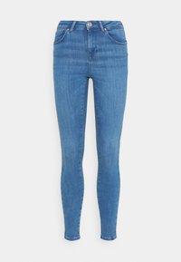 ONLY - ONLPOWER MID PUSH UP  - Jeans Skinny - light medium blue denim - 3