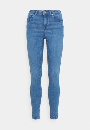 ONLPOWER MID PUSH UP  - Jeans Skinny Fit - light medium blue denim