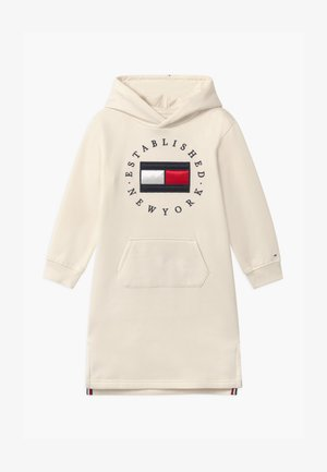 HERITAGE LOGO HOODIE - Day dress - ivory petal