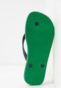 Havaianas - BRASIL LAYERS - Pool shoes - citrus yellow - 4