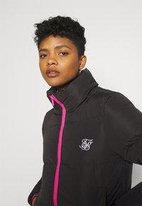 SIKSILK - ROMA CROP JACKET - Winter jacket - black - 3
