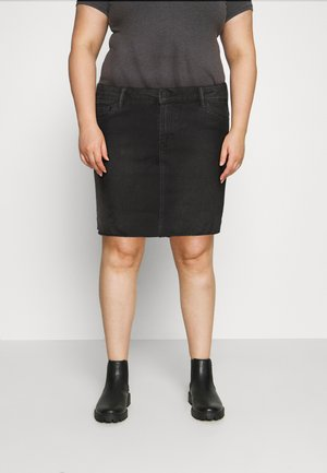 VMFAITH SHORT SKIRT MIX - Mini skirt - black