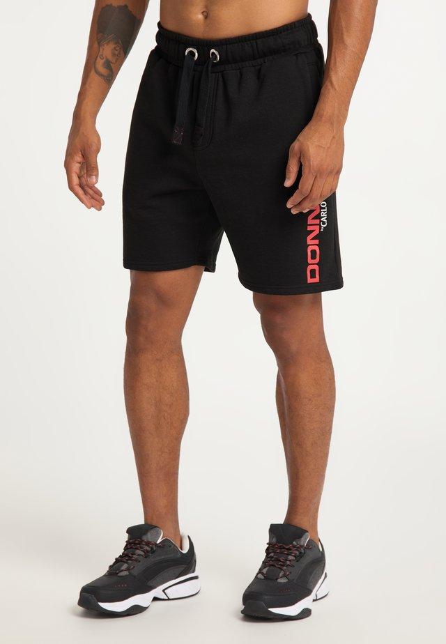 DONNAY X CARLO COLUCCI  - Shorts - schwarz
