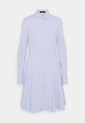 SUMMER DRESS - Shirt dress - sky blue