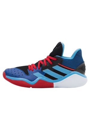 HARDEN STEPBACK - Zapatillas de baloncesto - core black/team light blue/collegiate royal
