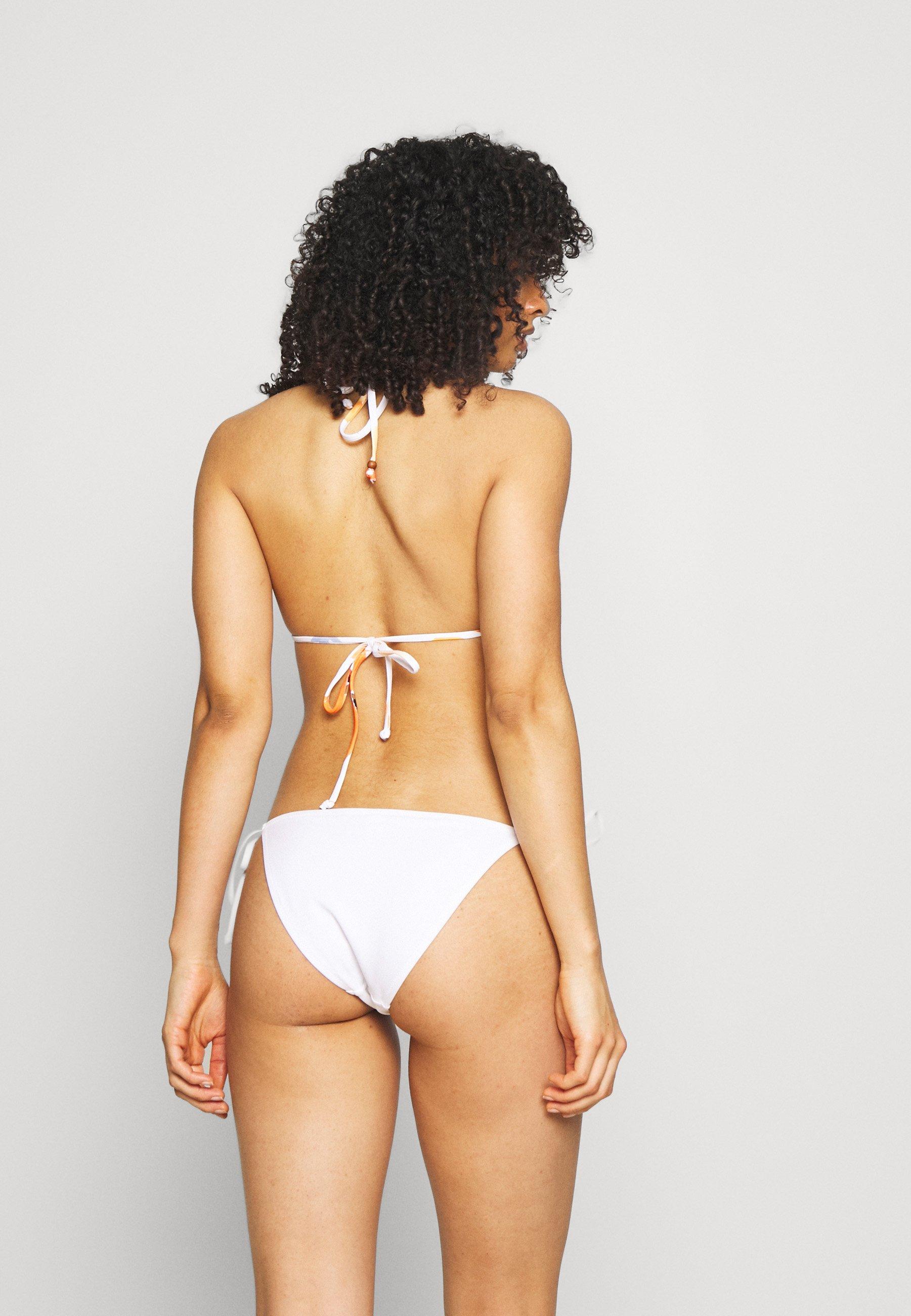 Women SUMMER MEMOIRS SHIRRED SLIDE - Bikini top
