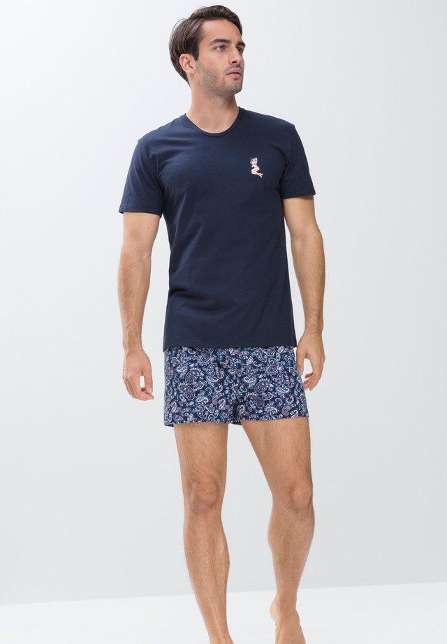 T-shirt print - yacht blue