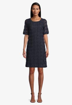 MIT RUNDHALSAUSSCHNITT - Day dress - dunkelblau