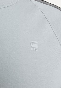 G-Star - SPORT TAPE LOGO + R T S\S - Print T-shirt - correct grey - 5