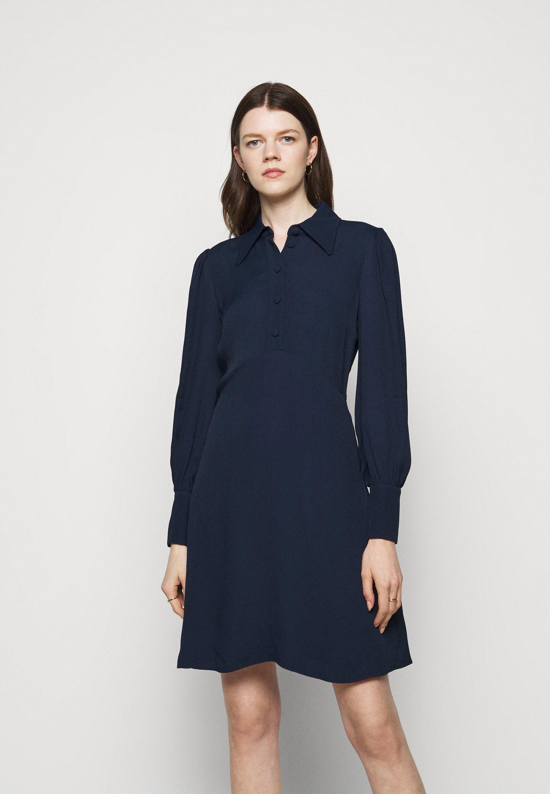 Women MINI DRESS - Shirt dress