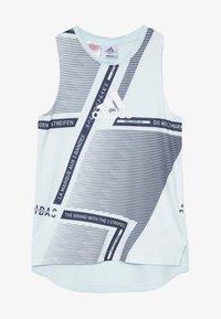 adidas Performance - TEE - Camiseta de deporte - skytin/legink/white - 2