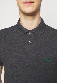 Polo Ralph Lauren - SHORT SLEEVE KNIT - Poloshirt - barclay heather - 5