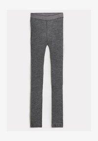 Intimissimi - LEGGINGS AUS WOLLE UND SEIDE - Leggings - Stockings - puzzle grigio - 4