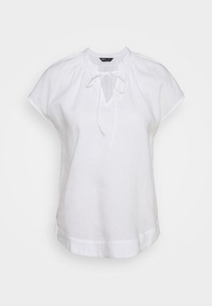 TIE SHELL - Blouse - white