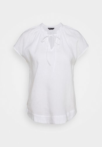 TIE SHELL - Blus - white