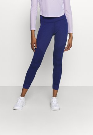 STUDIO HIGH WAIST 7/8 - Leggings - elektro blue