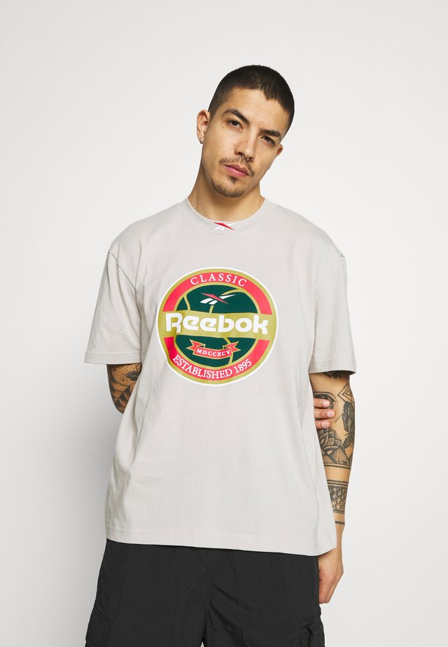 VINTAGE PACK CASUAL - Print T-shirt - sand stone