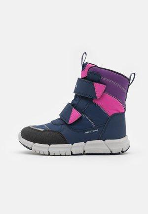 FLEXYPER GIRL - Zimní obuv - navy/fuchsia