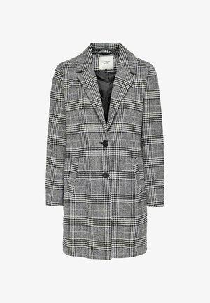 Trenchcoat - light grey/ black