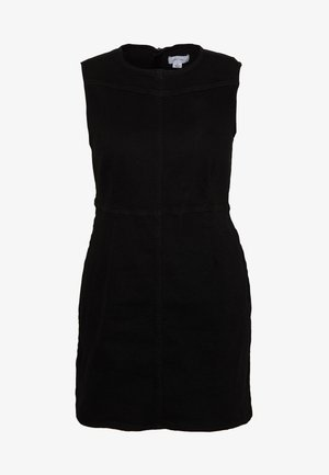 SEAM DETAIL BODYCON MINI DRESS - Day dress - balck