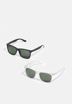 JACWAYFARER SUNGLASSES 2 PACK - Sunglasses - black/crystal