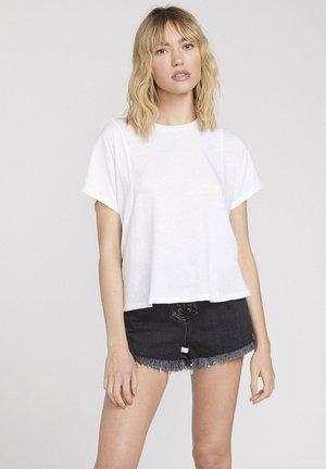 BURNY SS - Basic T-shirt - white