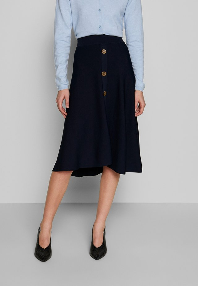 MIMI SKIRT - A-Linien-Rock - royal navy blue
