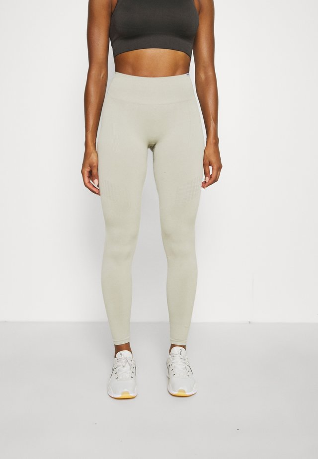 SEAMLESS LEGGINGS  - Leggings - light green