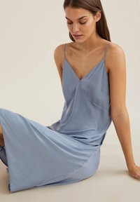 OYSHO - CAMISOLE - Nightie - light blue - 4