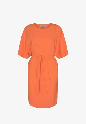 RIKA COSTA  - Jersey dress - orange