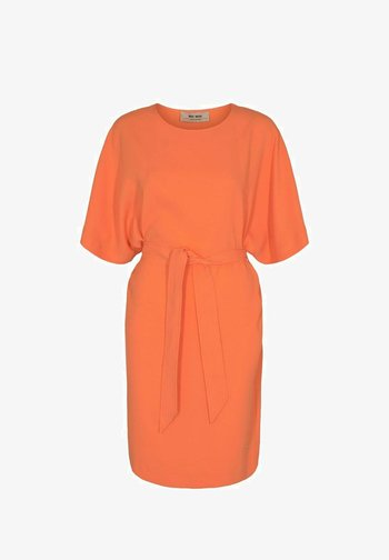 RIKA COSTA  - Jersey dress - orange