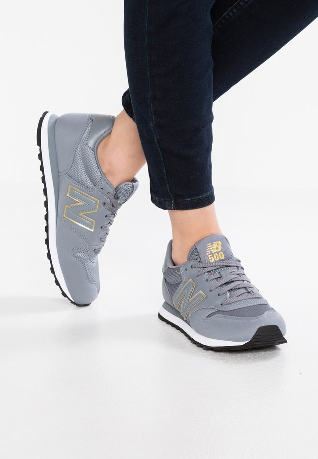 GW500 - Sneakers laag - grey/gold
